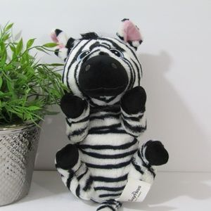 Disney Parks Authentic Original Zebra Plush